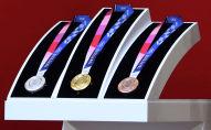 Комплект медалей Летних Олимпийских игр 2020 в Токио. Архивное фото