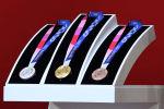 2020-жылы Японияда өтө турчу Олимпиада оюндарынын медалдары. Архив