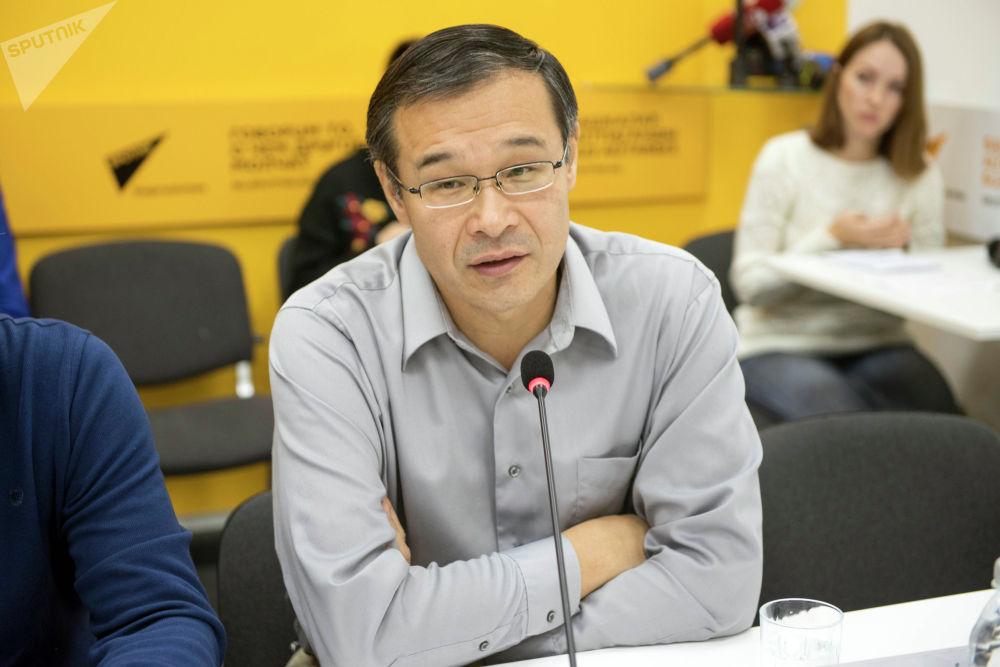 Сопредседатель Пикира Шерадил Бактыгулов