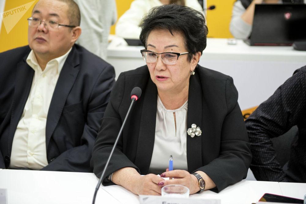 Доктор экономических наук, профессор Кыргызского экономического университета Бактыгуль Токсобаева