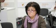 Назначена главой Управления образования Бишкека Эльмира Иманалиева. Архивное фото