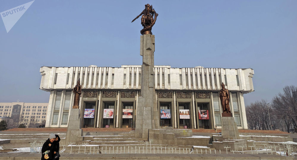 Т. Сатылганов атындагы филармония. Архивдик сүрөт