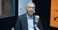 Bio-KG органикалык кыймыл федерациясынын жетекчиси Искендербек Айдаралиев. Архив