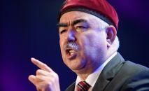 Афганский военный и политический деятель, генерал Абдул-Рашид Дустум. Архивное фото