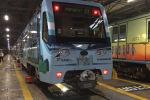 В Московском метрополитене появился новый тематический поезд, посвященный пятилетию Евразийского экономического союза. Торжественная церемония запуска состоялась 6 декабря.