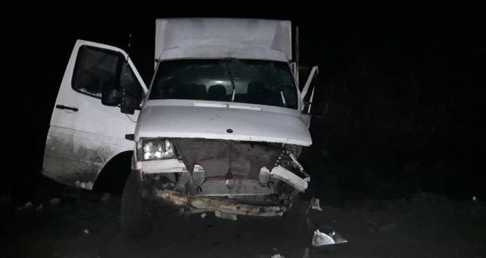 В ночь с 6 на 7 декабря произошла авария с участием начальника Сокулукского РОВД полковника милиции Максата Чойбекова