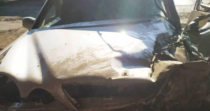 В ночь с 6 на 7 декабря произошла авария с участием начальника Сокулукского РОВД полковника милици
