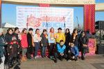 В Бишкеке состоялся благотворительный забег Мы — поколение равенства, проведенный в рамках 16-дневной кампании против гендерного насилия