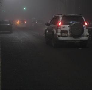Туман. Архивное фото
