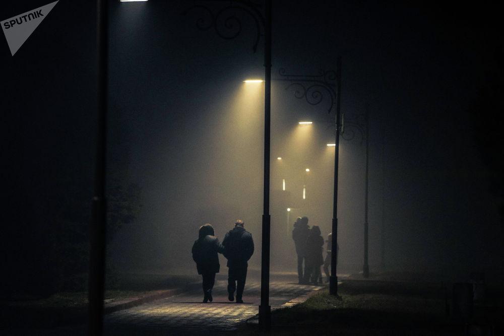 7-декабрь күнү Бишкекти коюу туман каптады