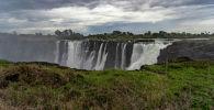 Водопад Виктория в Зимбабве. Архивное фото