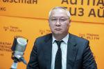Финансы министринин орун басары Алмазбек Азимов