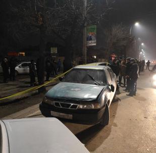 Стрельба на пересечении улиц Некрасова и Гагарина в Бишкеке
