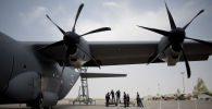 Военный самолет C-130 Hercules. Архивное фото