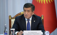 Президент Кыргызстана Сооронбай Жээнбеков на заседании Совета по судебной реформе при в Государственной резиденции Ала-Арча