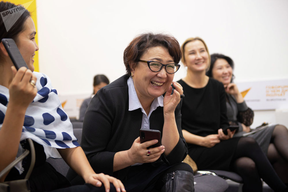 Пресс-секретарь одного из банков Кыргызстана Тамара Валиева