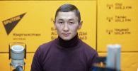 Кикбокс боюнча спорт сүйүүчүлөр арасында дүйнөнүн үч жолку чемпиону Авазбек Аманбеков
