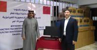 Посольство Катара подарило 49 компьютеров Министерству внутренних дел Кыргызстана