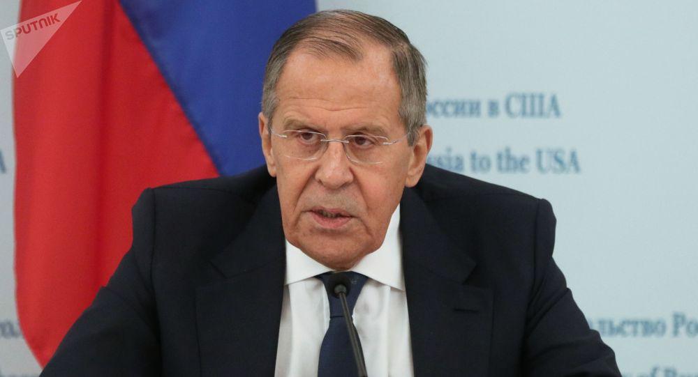 Архивное фото министра иностранных дел РФ Сергея Лаврова