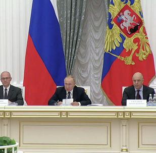 Президент России Владимир Путин раскритиковал попытки исказить правду о Великой Отечественной войне.