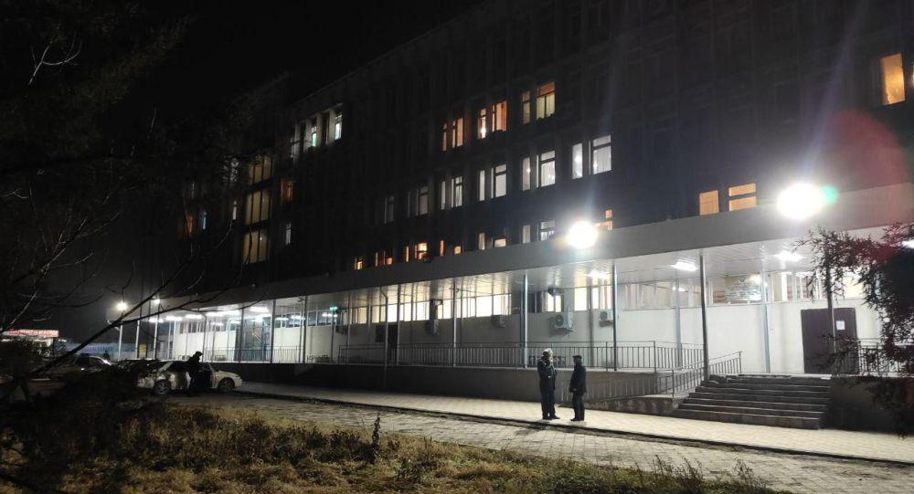 Обыск в здании УОБДД