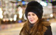 Актриса Анастасия Заворотнюк на открытии ГУМ-катка на Красной площади в Москве.