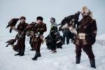 Фестиваль беркутиной охоты в Казахстане. Архивное фото