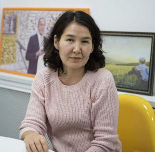 Жогорку категориядагы дарыгер Элмира Султанбаева