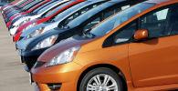 Автомобили Honda Fit. Архивное фото