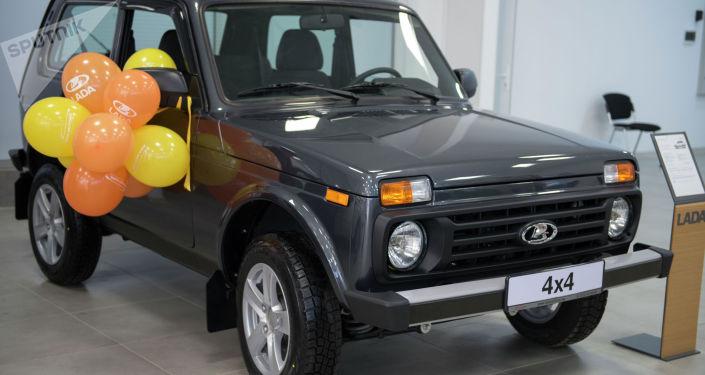 LADA 4x4, исполнение Luxe AC. Объем двигателя — 1,7 л; цена — 723 000 сомов ($ 10 351)