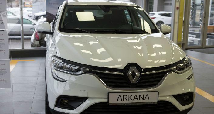 Renault Arkana. Объем двигателя — 1,3 л; цена — 1 699 000 сомов ($ 24 446)