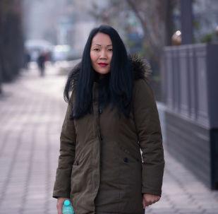 Предприниматель Назира Муканбетова, которая занимается изготовлением стиральных порошков из хозяйственных мыл