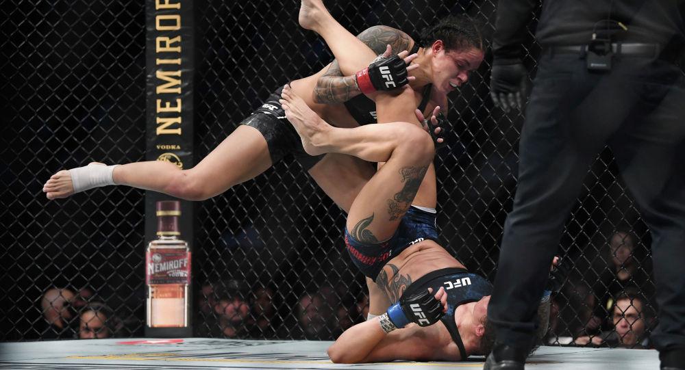 UFC уюмунун жеңил салмактагы (61 кг.) чемпиону Аманда Нуньес