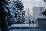 Бишкектеги аба ырайы. Архивдик сүрөт
