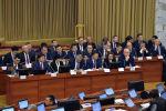 Министры и члены правительства КР. Архивное фото
