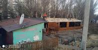 В Бишкеке за последнюю неделю городские власти снесли кафе и несколько объектов