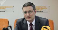 Замдиректора Института стратегических и межрегиональных исследований Санжар Валиев. Архивное фото