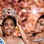 Мисс Франция — 2019 Ваймалама Чавес передает корону новой победительнице