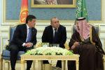 Кыргызстандын президенти Сооронбай Жээнбеков жана Сауд Арабиясынын Королу Салман бин Абдельазиз Аль Сауд