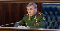Начальник Генерального штаба Вооруженных сил РФ - первый заместитель министра обороны РФ Валерий Герасимов. Архивное фото