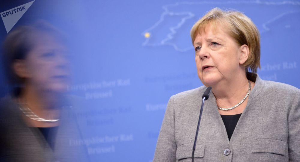 Архивное фото федерального канцлера ФРГ Ангелы Меркель