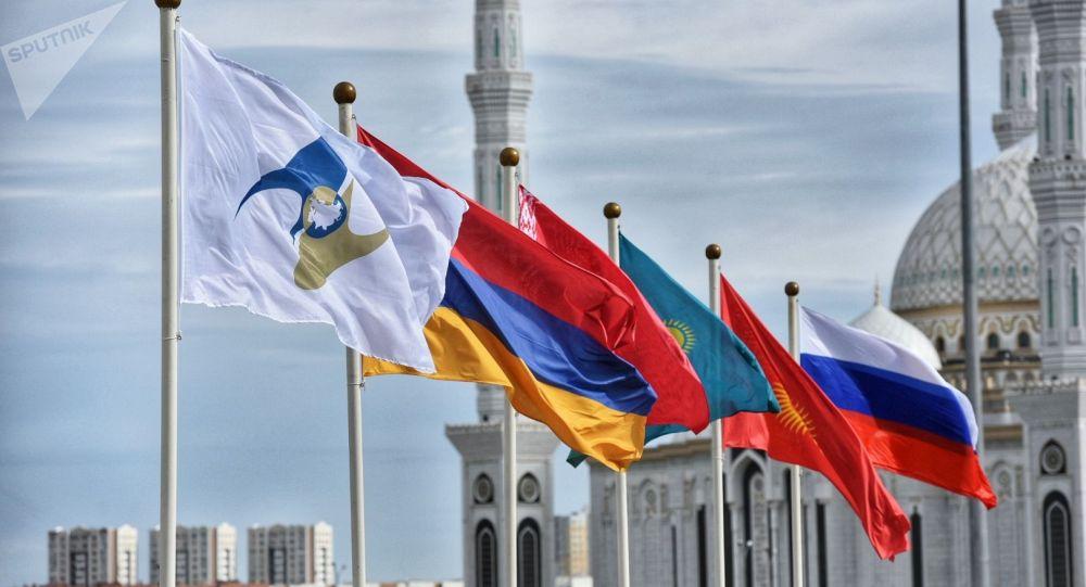Архивное фото стран участниц Евразийского экономического союза (ЕАЭС)