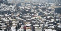 Город Пловдив, второй по размерам город Болгарии и промышленный центр. Архивное фото