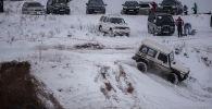 Второй джип-фестиваль Снежная битва