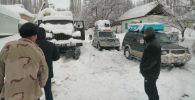Кара-Кулжа районунун айылдарында жааган кардын калыңдыгы 1 метр 20 сантиметрге чейин жетти