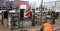 В Оше сегодня, 24 декабря, началось строительство учебного корпуса на 500 мест на средства Единого депозитного счета