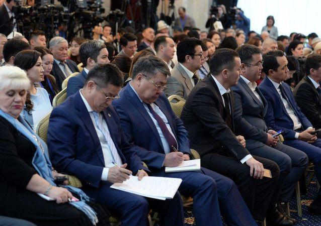 Большая пресс-конференция Сооронбая Жээнбекова в государственной резиденции Ала-Арча. 25 декабря 2019 года