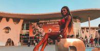 Участница международных чемпионатах по бодибилдингу, победительница турнира Olympia в Индии Алина Богачева