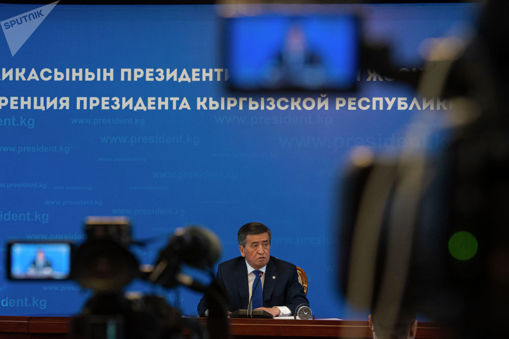 Райым Матраимов жана бажыдагы коррупция тууралуу суроо бул ирет да президенттен кыйгап өткөн жок