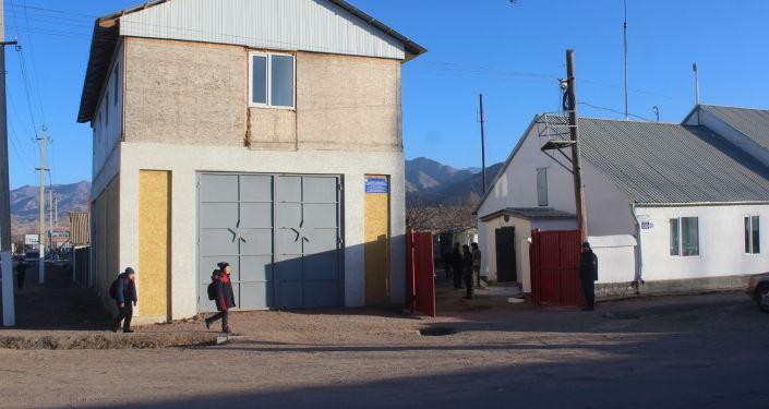 Новое здание противопожарной служба №38 Тонского района Иссык-Кульской области